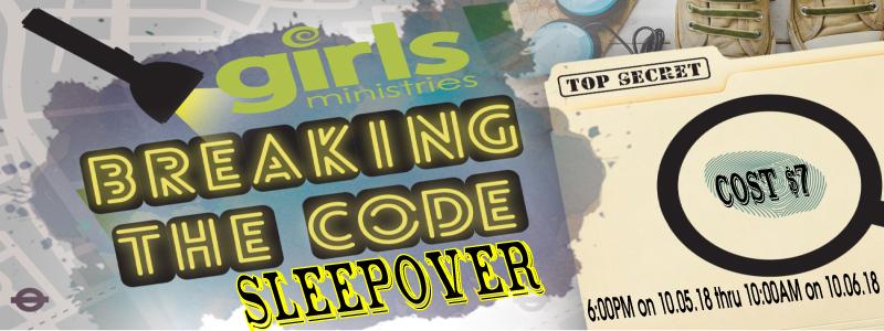 Sleepover Breaking the Code