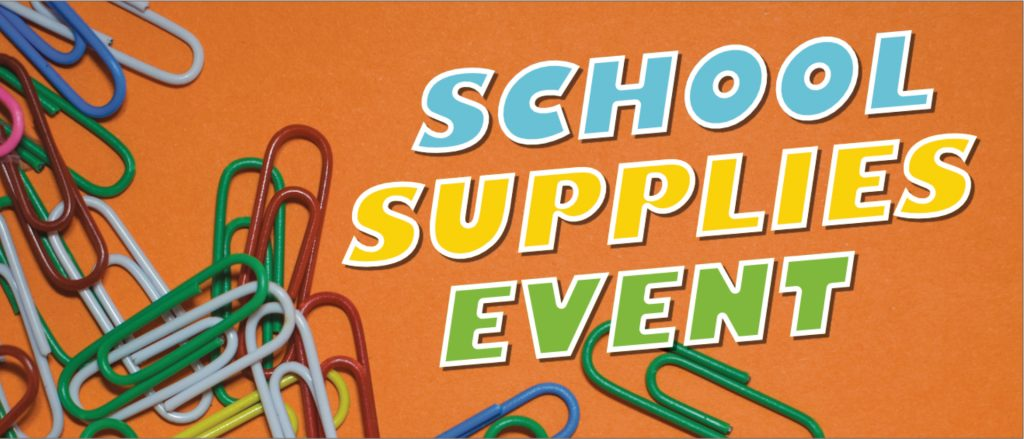 2021 School Supplies Outreach